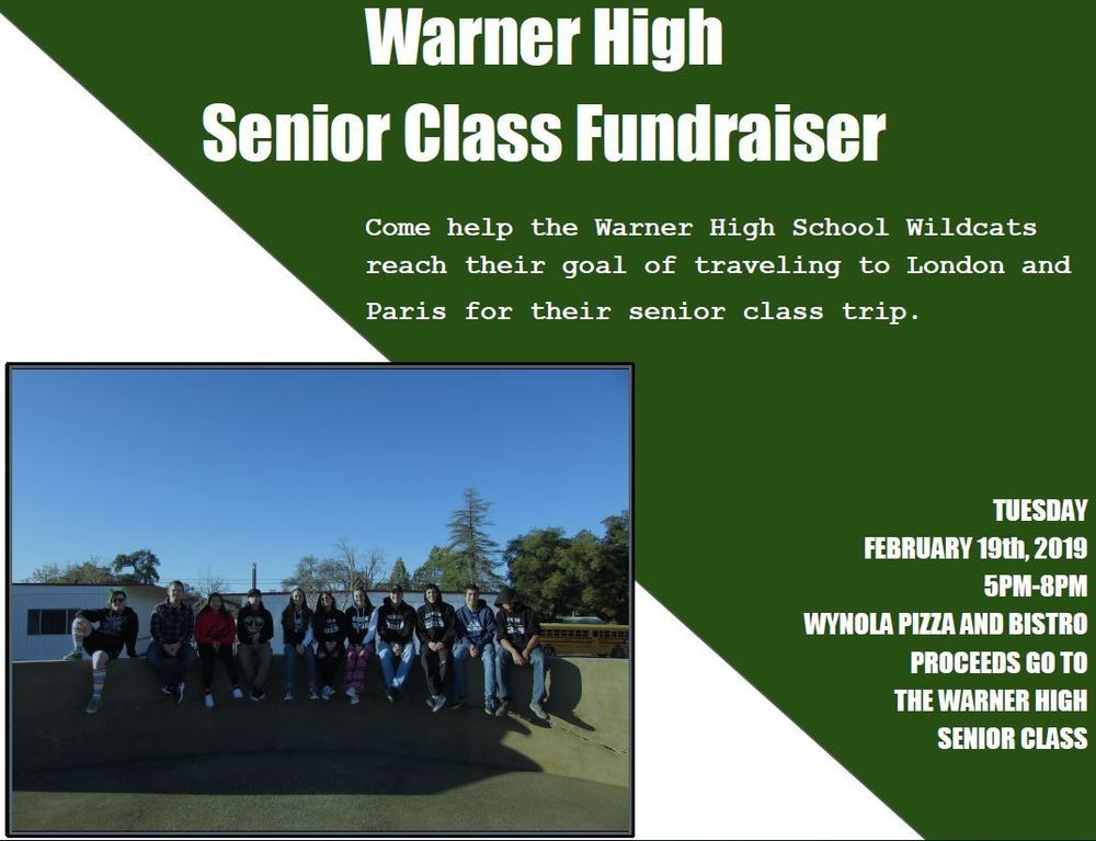 Support our Senior Fundraiser!