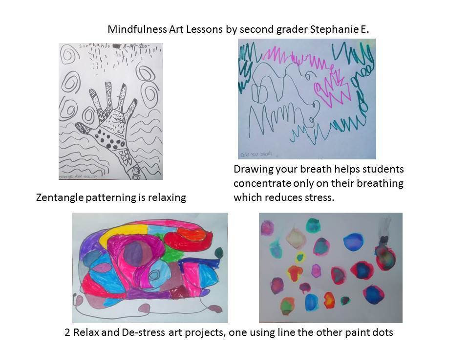 Stephanie E's mindfulness art projects