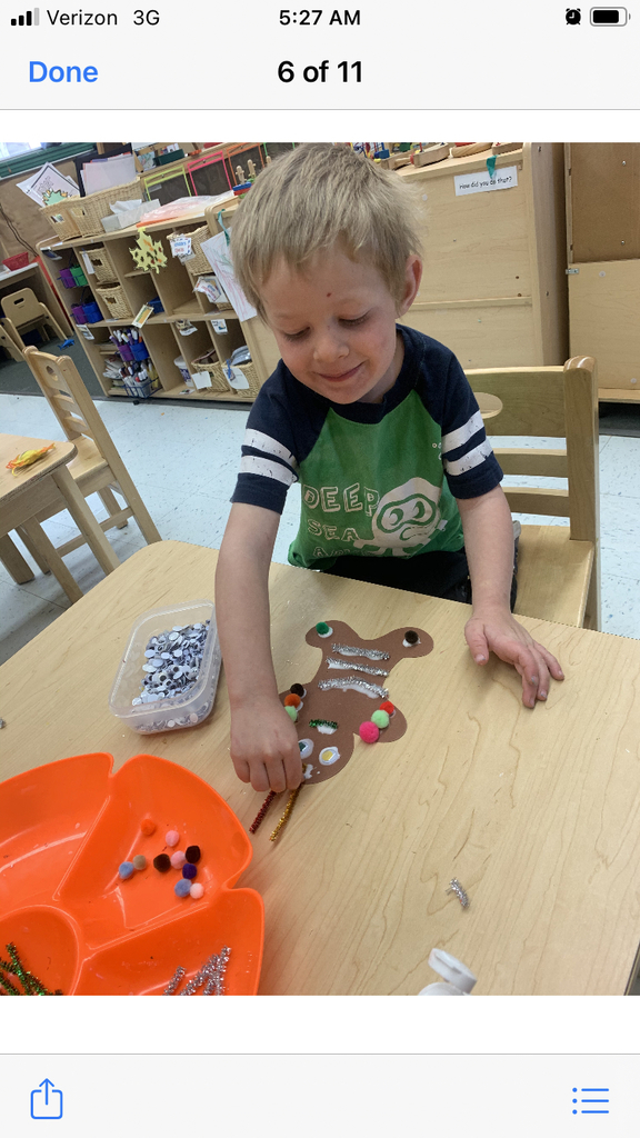 Gingerbread man making