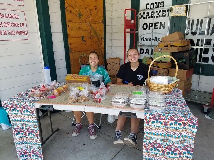 Bake sale today until 5 at Don's market