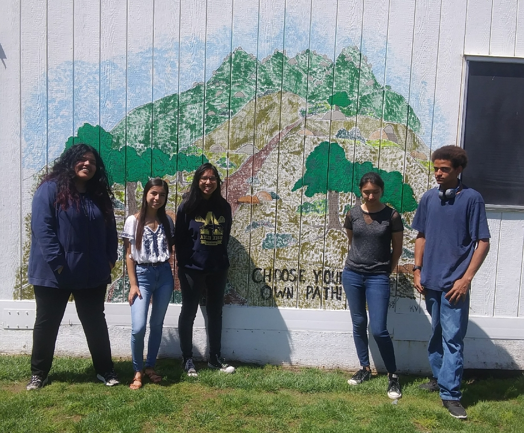 mural with students
