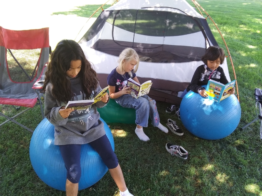 Reading Outside the Reading Tent