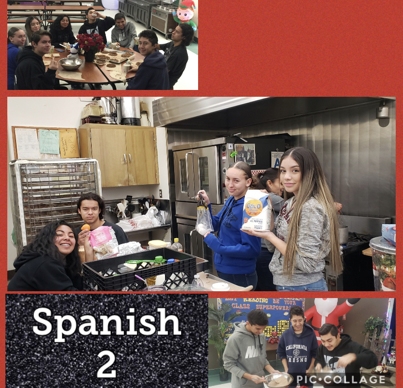 Great job Spanish 2 students!