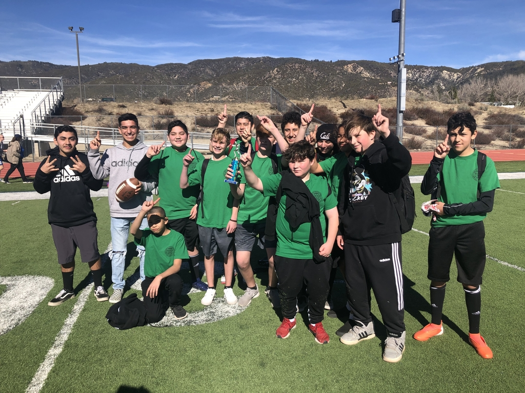 1st place Warner flag football